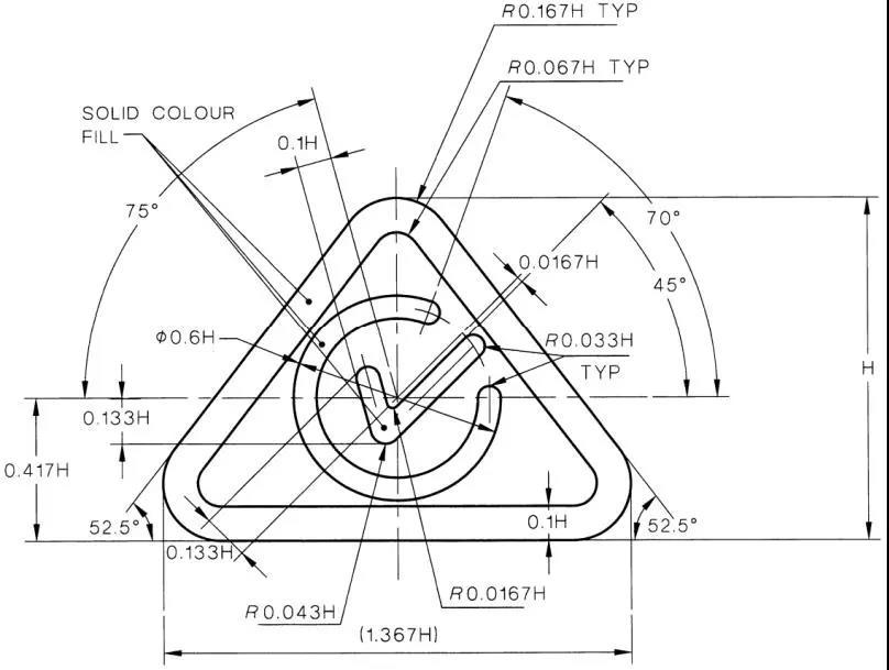 RCM标志尺寸要求